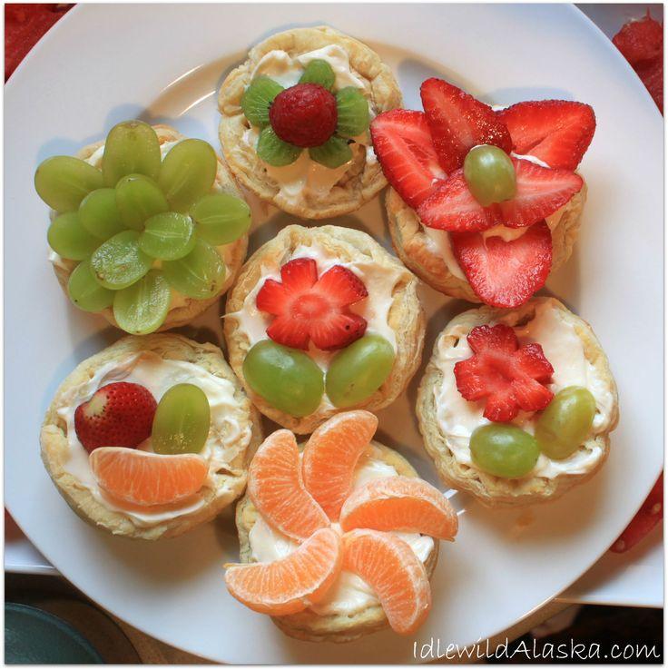 Garden Party Fruit Tarts