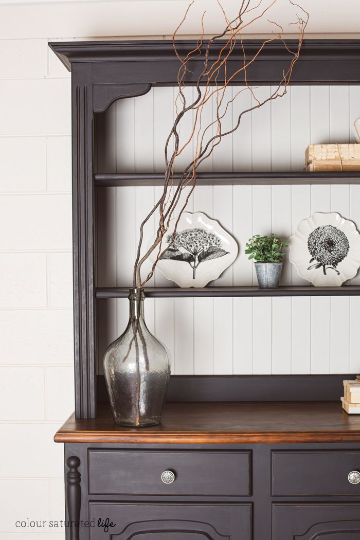 25+ Best Ideas About Painted Hutch On Pinterest