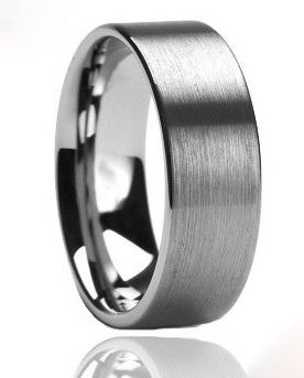 Fasten   Mens Ring   Tungsten   Any Size    Wedding Band 2015