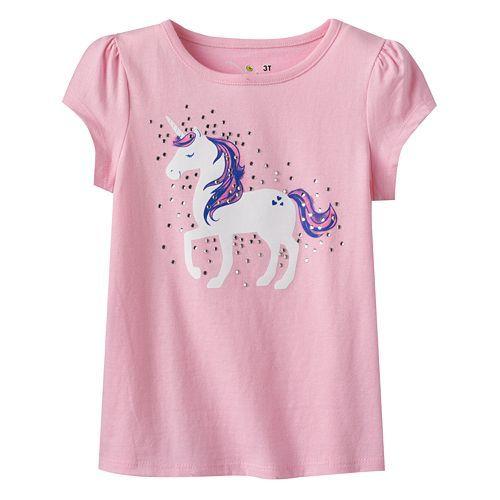 Pink unicorn jumping beans