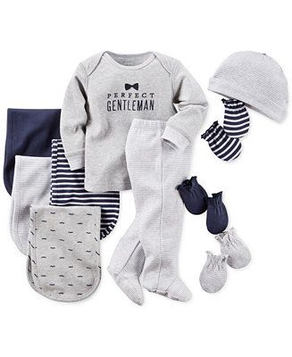 Carter's Baby Boys' Clothing Set, Mitts & Burp Cloths - Kids & Baby - Macy's