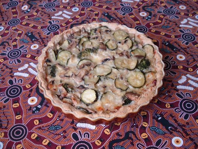 Gluten Free SCD and Veggie: Vegetable Flan GF SCD
