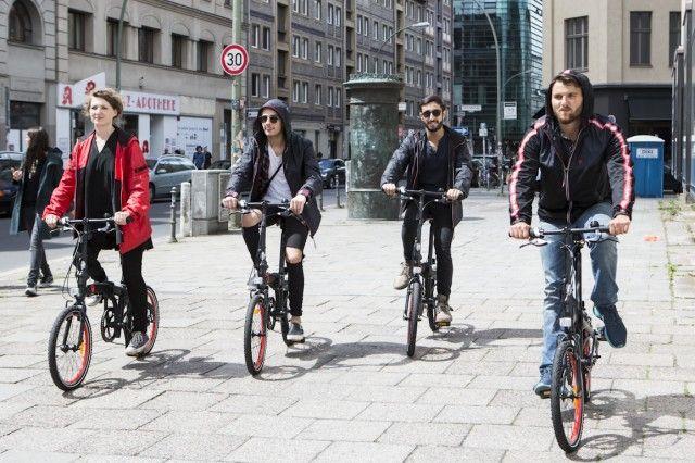 Bike route tempelhof
