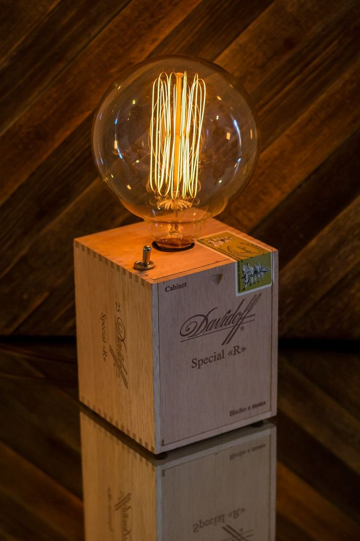 Cigar Box Lamp                                                                                                                                                                                 More