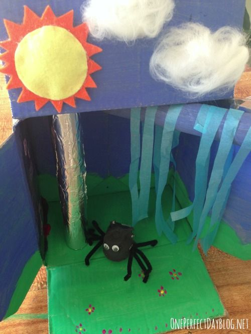 itsy bitsy spider story box | One Perfect Day, Play.Learn.Explore.Create