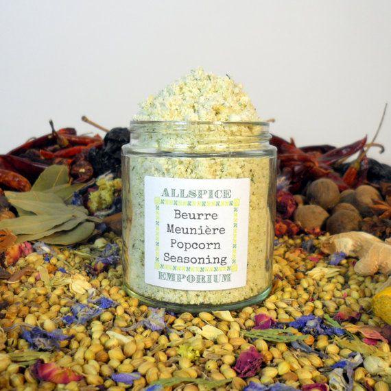 Beurre Meunière Gourmet Popcorn Seasoning Mix by ALLSPICEEMPORIUM