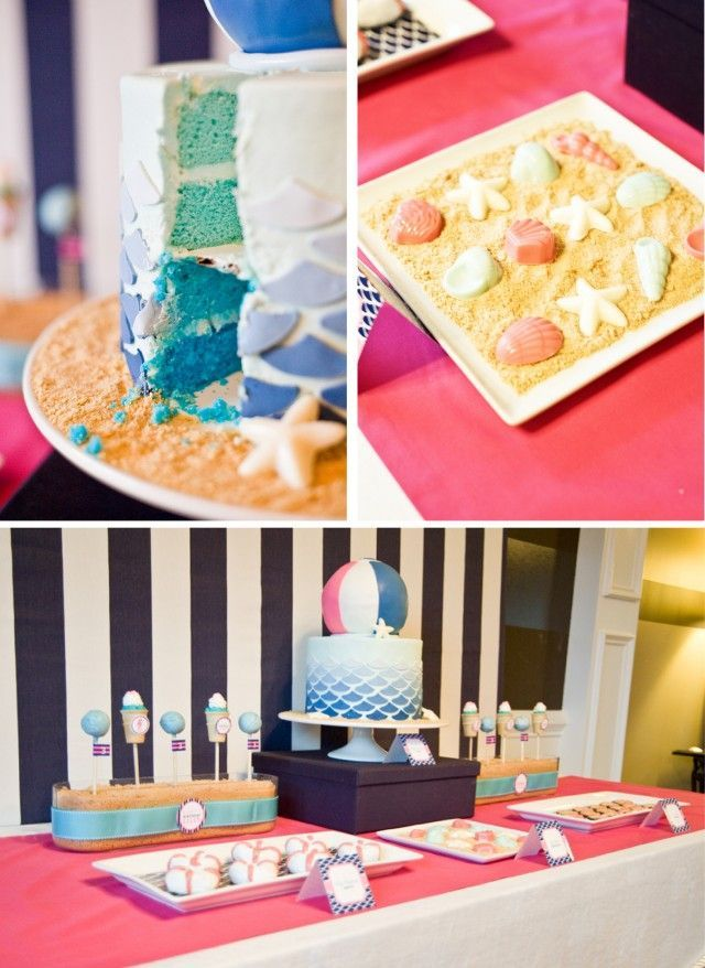 beach theme party | food-beach themed party | Beach themed foods