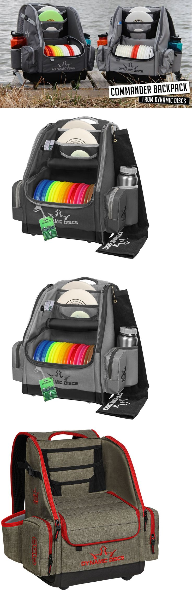 Disc Golf 20851: New Dynamic Discs Commander Backpack Disc Golf Bag -> BUY IT NOW ONLY: $129.95 on eBay!