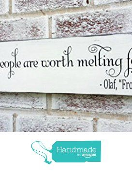 Frozen movie quote, Some people are worth melting for, #winter wedding decorations, #Christmas wedding decorations