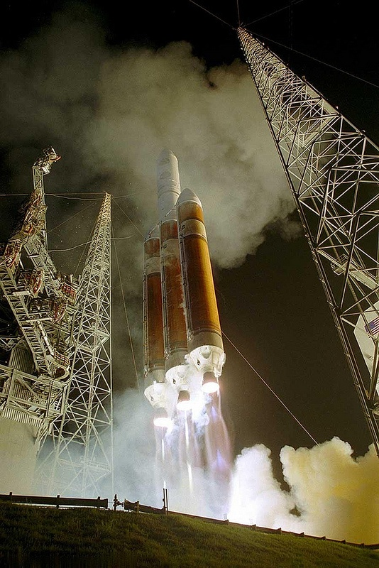 Launching of Delta 4 - Cape Canaveral, Florida by Jim Davies