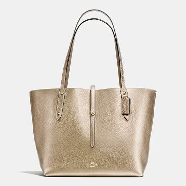 market tote by COACH. Shop The COACH Market Tote In Pebble Leather. Enjoy Complimentary Shipping & Returns! Find Designer Bags, Wallets, Sh...