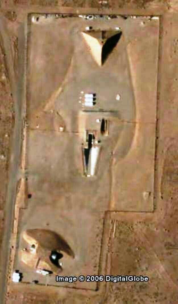 Giant Pyramid near area 51,Nevada. From/ Google Earth