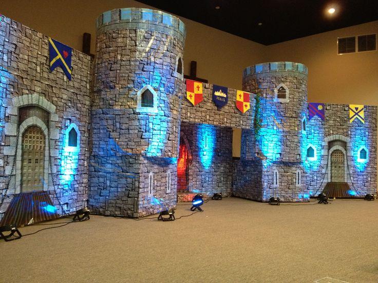 Kingdom Rock VBS. I love the uplighting