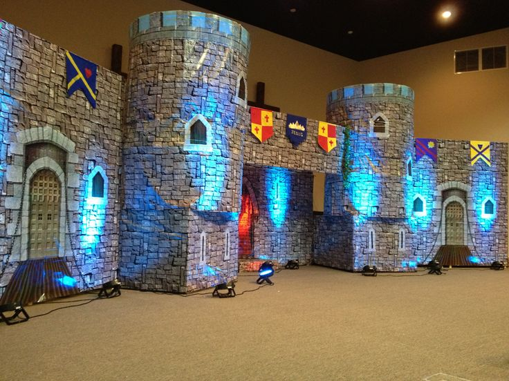 Kingdom Rock VBS. I love the uplighting