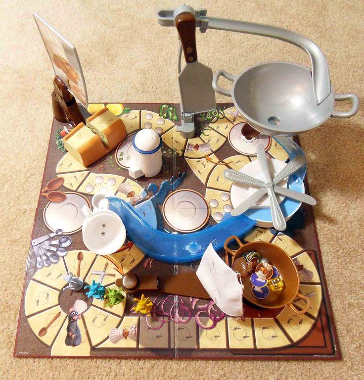 Pixar Disney RATATOUILLE Kitchen Quake Mouse Trap Board