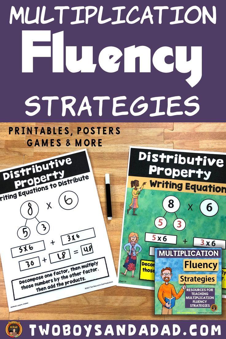 Multiplication Fact Fluency Using Strategies Multiplication Strategies Mental Math Strategies Math Strategies [ 1104 x 736 Pixel ]