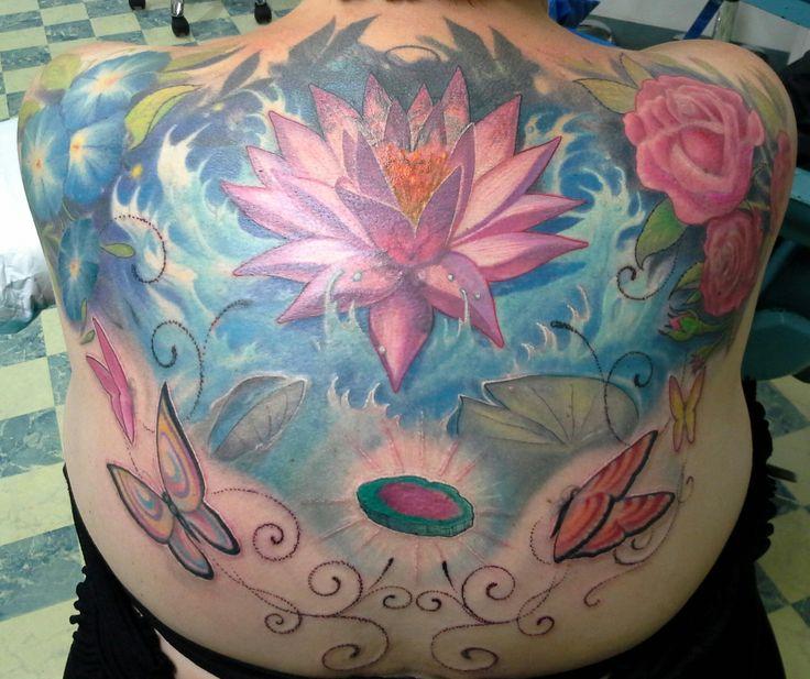 Tattooist: Daniel Brandt Electric Expressions Tattoo Studio Margate, QLD, Australia PH: (07) 38895966