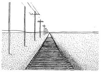 Урок рисования № 6: Линейная перспектива