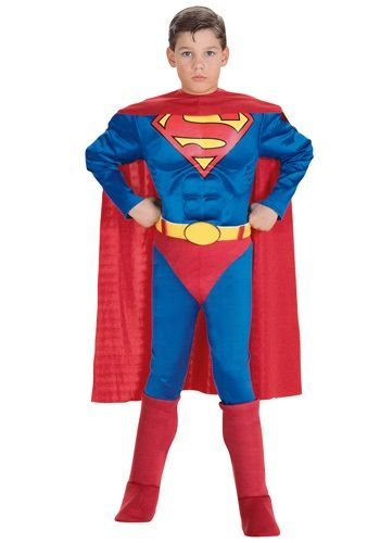 Christmas 2014 for our grandson............... Our toddler deluxe Superman costume is a great superhero costume for pretend play dress up
