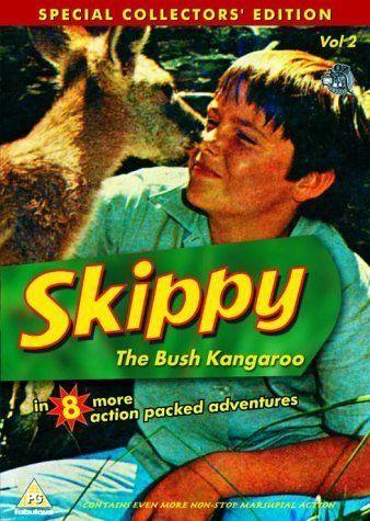 Skippy. EEN van de vele vele cute dierenseries in mijn jeugd. Je kwam er werkelijk in om. Maar kinderen en dieren he, dat wil wel!