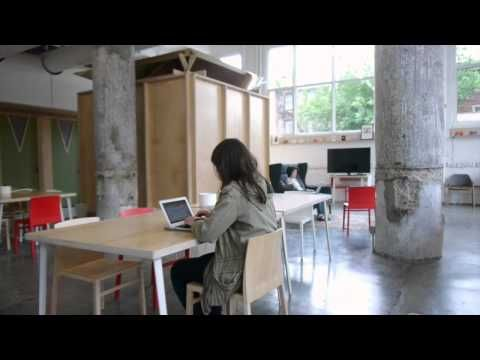 Design*Sponge Tours Makeshift Society Brooklyn - YouTube