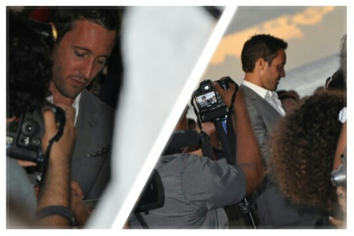 Photos I took of Alex O'Loughlin on Sunday 9-23-12 at the Hawaii Five 0 premiere