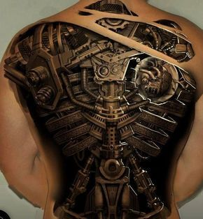 24 prachtige 3D-tattoo's die je hersenen in de knoop leggen met optische illusies   Flabber