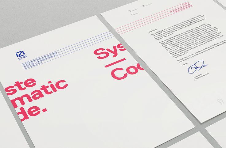 Connectedbycode, letterheads — We Love Noise