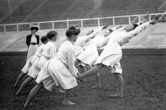 Os Jogos Olímpicos há 104 anos