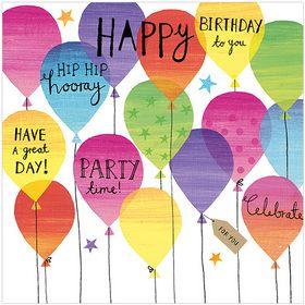 S296 Birthday Balloons www.gailscards.com.au