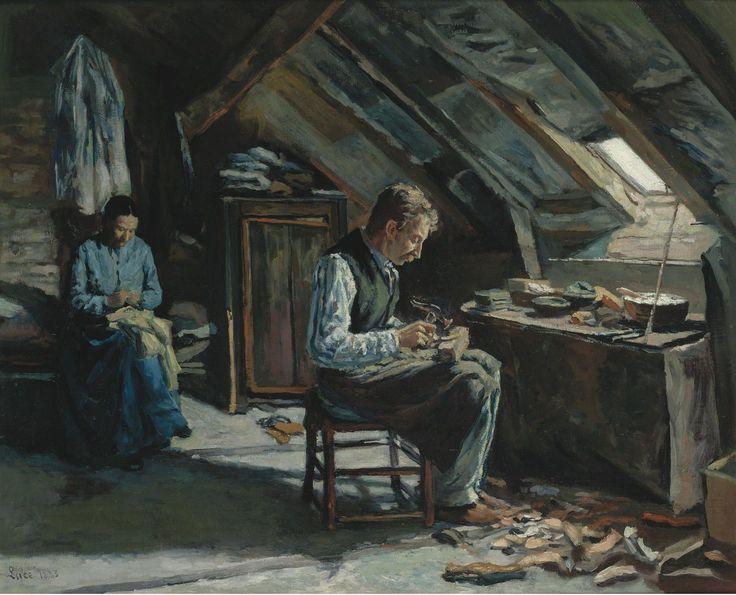 maximilien-luce---boot-maker-on-mansarde-1883.jpeg (1998×1617)