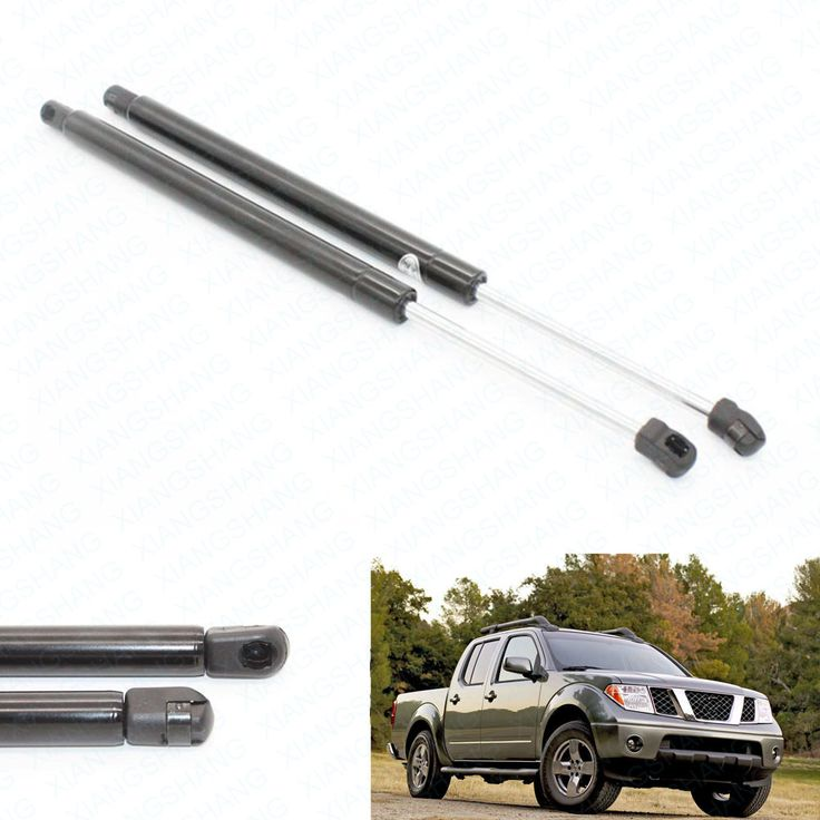 Fits for Nissan Frontier 2005 2006 2007 2008 2009 2010 2011 Rear Tailgate Boot Gas Struts Lift Supports Prop Rod Arm Shocks