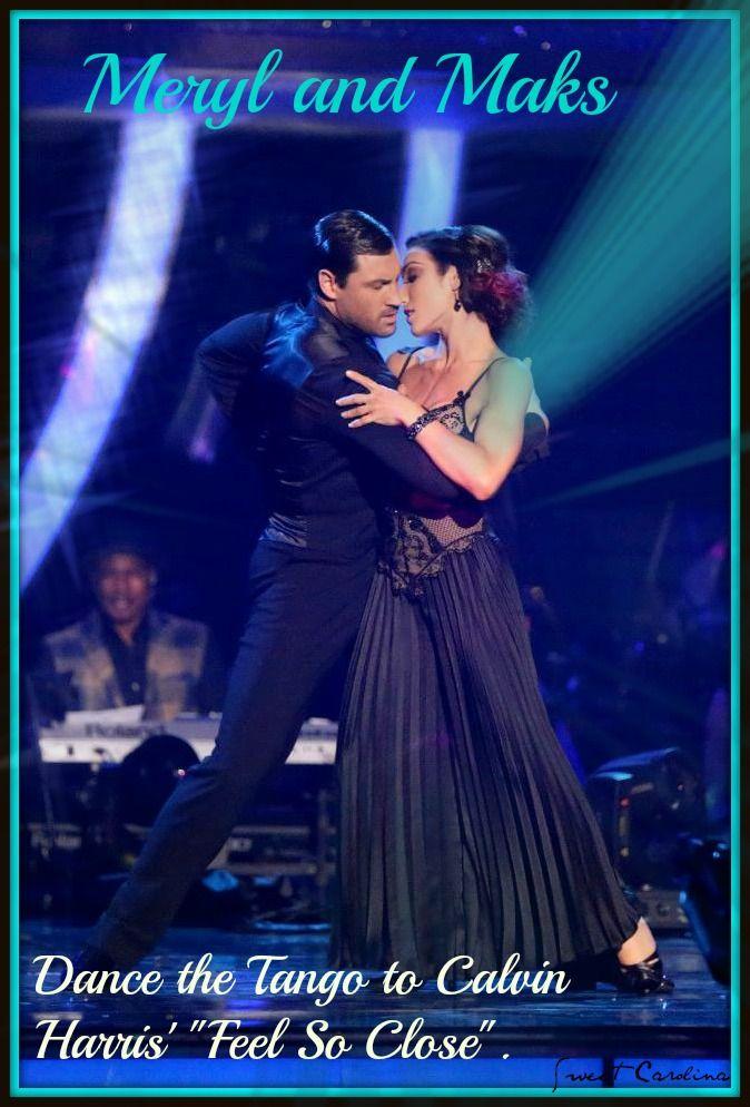 Dancing with the stars maksim dating meryl