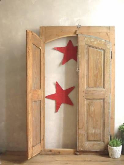 17 meilleures id es propos de portes anciennes sur for Fabriquer porte style atelier