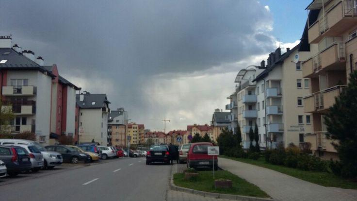 Kawałek deszczu z kawałka chmury