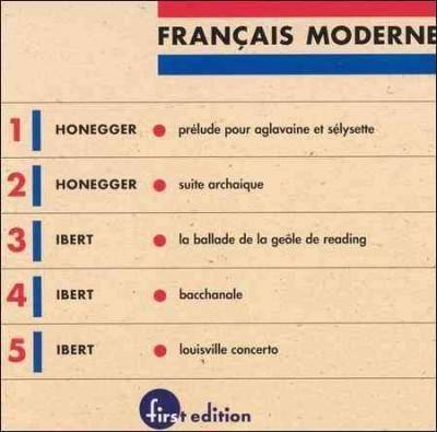 Louisville Symphony Orchestra - Francais Moderne Vol 1: Honegger/Ibert
