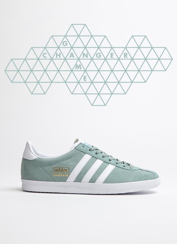 adidas Originals Gazelle OG: Light Green