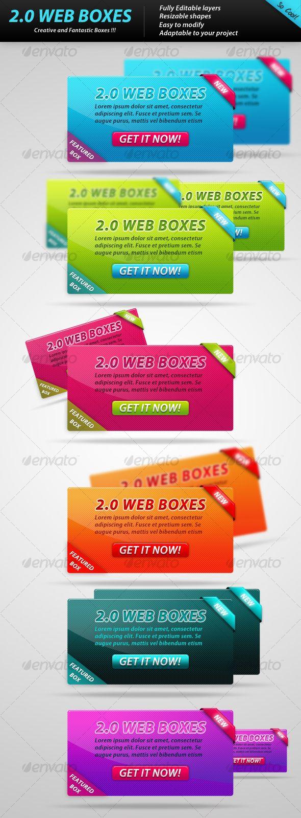 2.0 WEB BOXES