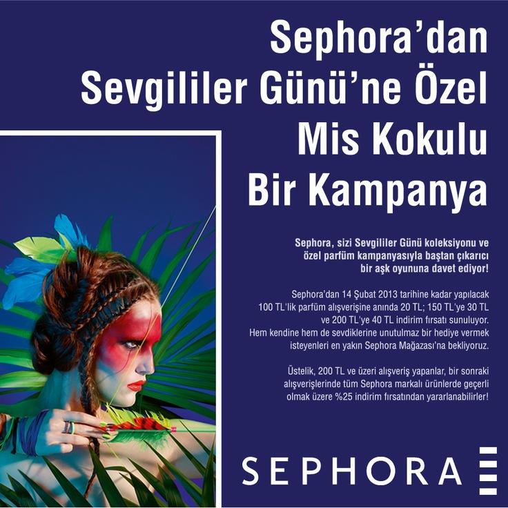 Sephora #buyaka da Aşk Sezonu açıldı!   Sephora, sizi Sevgililer Günü koleksiyonu ve özel parfüm kampanyasıyla baştan çıkarıcı bir aşk oyununa davet ediyor!