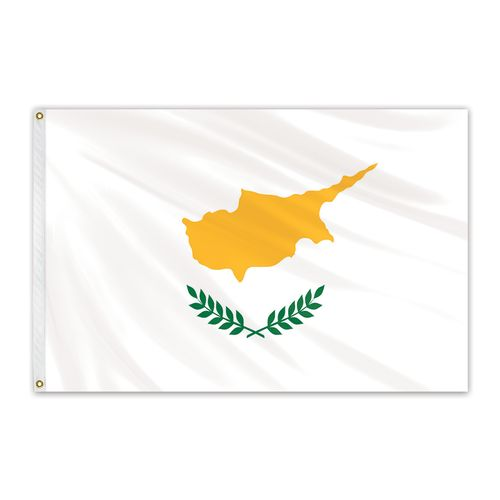Cyprus Outdoor Nylon Flag #FlagCo #OutdoorFlag #Cyprus