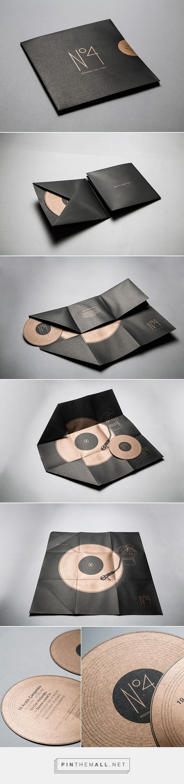 No4, Invitaion & Direct Mailing by Ufuk Ergun. If you want to customize a good-looking CD packaging, visit www.unifiedmanufacturing.com.