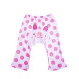 Dotty Fish Baby and Toddler Cool Cotton Leggings Cream, Pink Spotty Piglet design - 80cm/6-12 months Dotty Fish,     http://amzn.to/12EC4a0