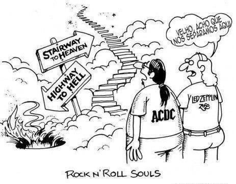 Os caminhos do Rock N' Roll