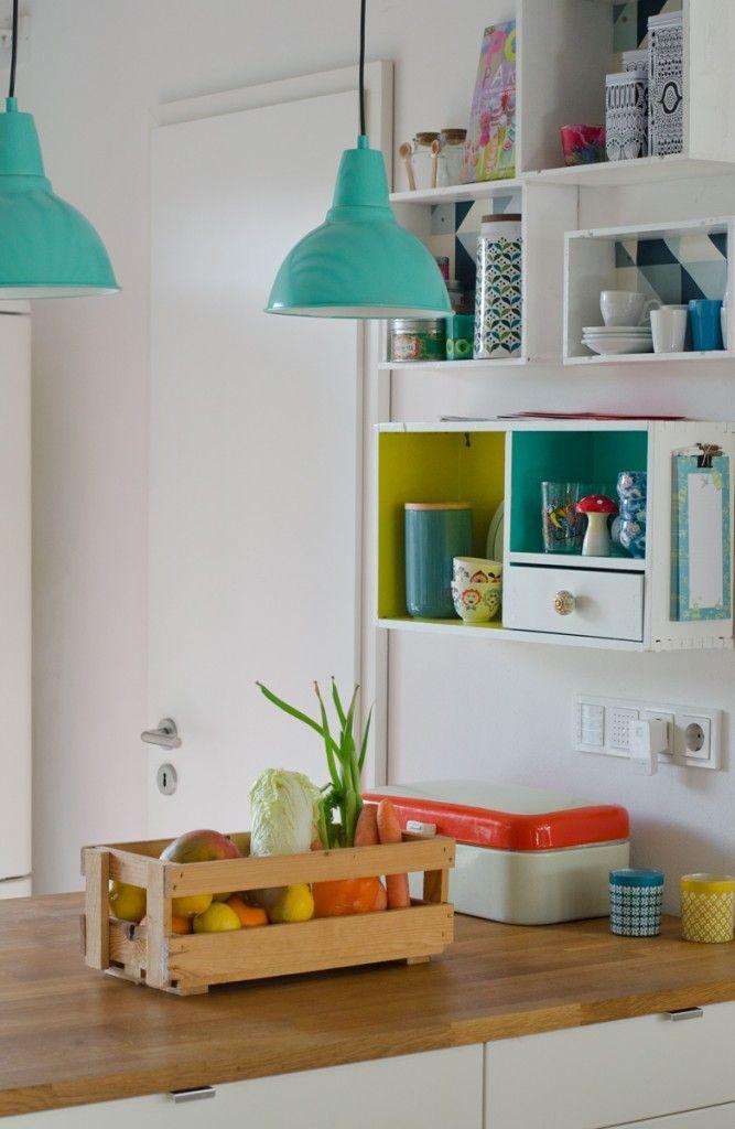 Přes 25 nejlepších nápadů na téma Die Küche na Pinterestu Neues - ideen wandgestaltung küche
