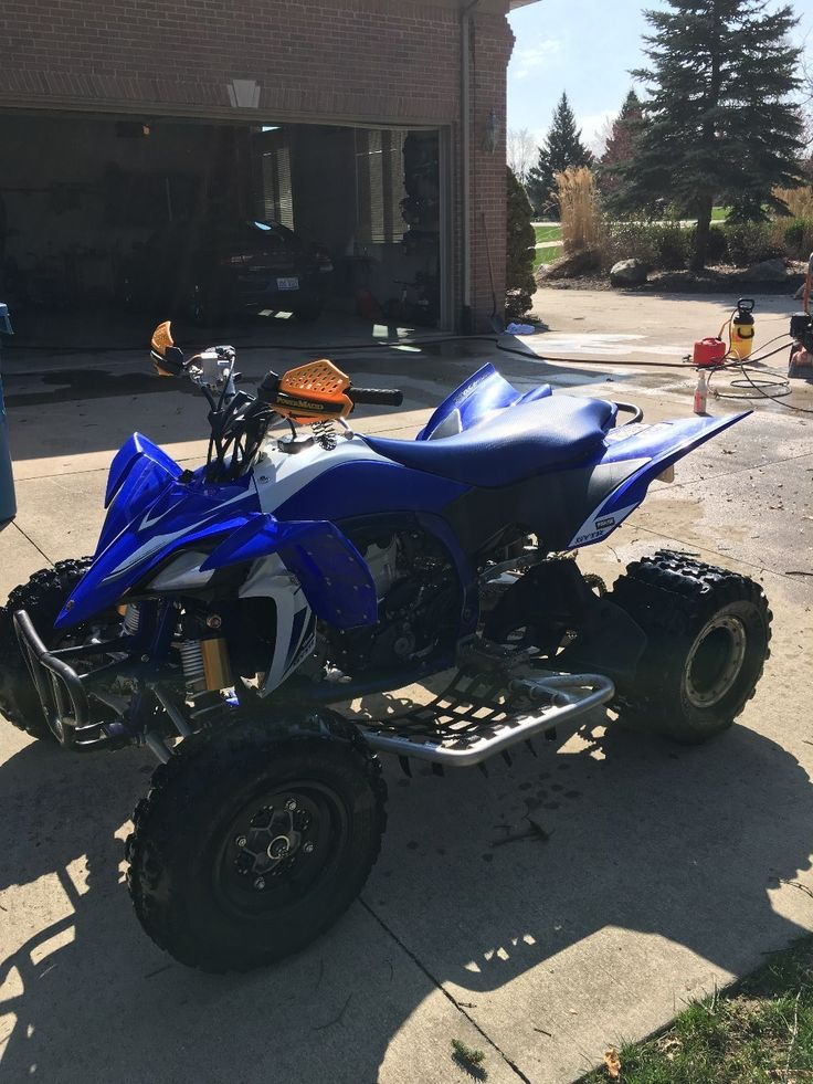 Used 2010 Yamaha YFZ 450R ATVs For Sale in Michigan. This is a special editionEFI YFZ450R, itis the ultimate moto-dominating, podium-topping pure sport ATV package.<br />it has very low hours, very low use. Orginal tires. Has a GYTR setup with a chip and exhaust. <br />LOOKS GREAT, RUNS GREAT! Electric start<br /><br />It is in very good shape. I am second owner, i bought it in 2013. Since i bought it my son started playing travel ball so i only used it 2 times per year max on…