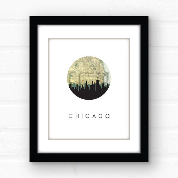 As 25 melhores ideias de Chicago map no Pinterest