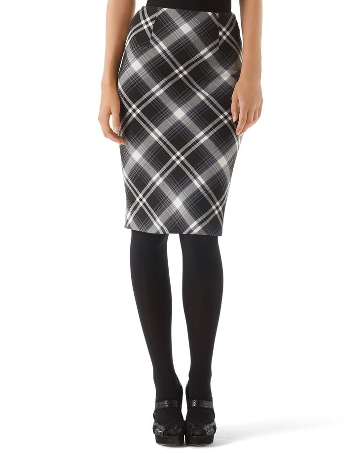 best 25 plaid pencil skirt ideas only on