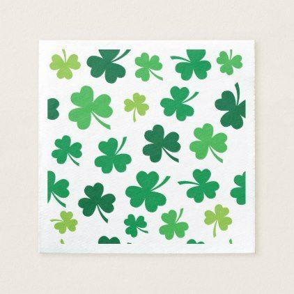 Irish Paper Party Napkins - st patricks day gifts Saint Patrick's Day Saint Patrick Ireland irish holiday party
