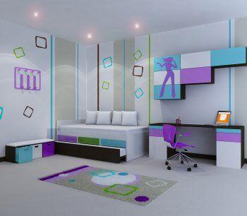 Eki design cuartos bebes decoracion infantil cuartos for Cuartos de nina y nino juntos
