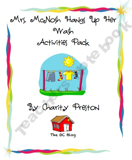Mrs. McNosh Activities PackFree Prek 2Nd, Reading Languages Art, Mrs Mcnosh Activities Pack, Teachers Ideas, Teachers Notebooks, Prek 2Nd Grade, Mcnosh Hanging, Classroom Ideas, Spring Schools